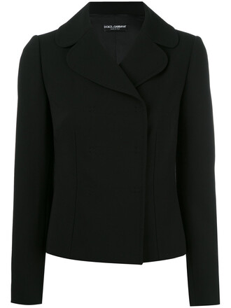 blazer women spandex black silk wool jacket