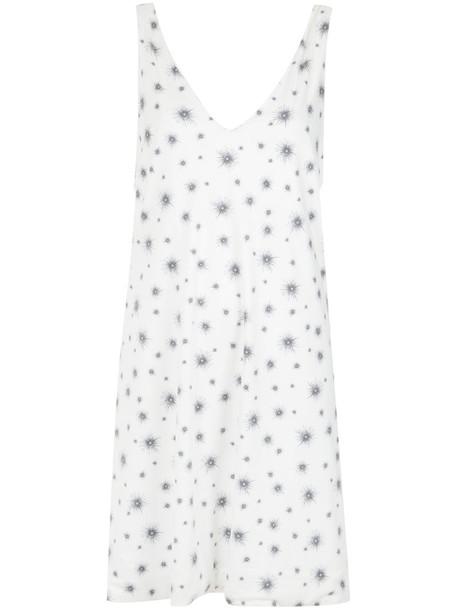 Olympiah dress shift dress women spandex white
