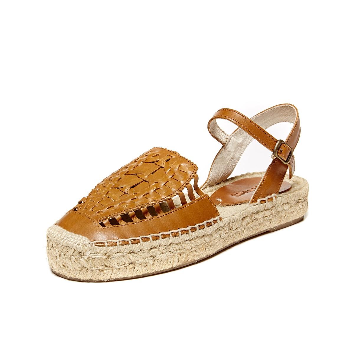 43b344f2d686 Soludos Vachetta Leather Huarache Sandal - Soludos Espadrilles