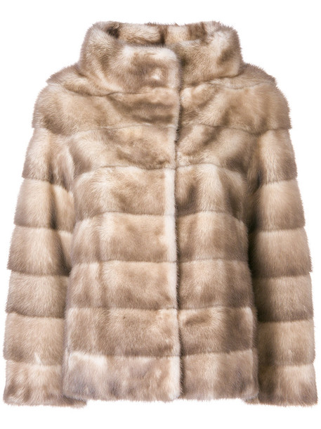 Liska jacket fur women nude