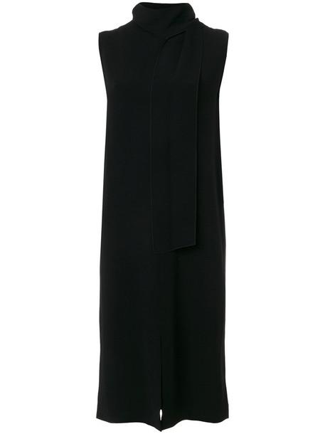 Joseph dress women slit spandex black