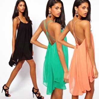 dress chiffon dress purity exotic bohemian dress straps mini dress