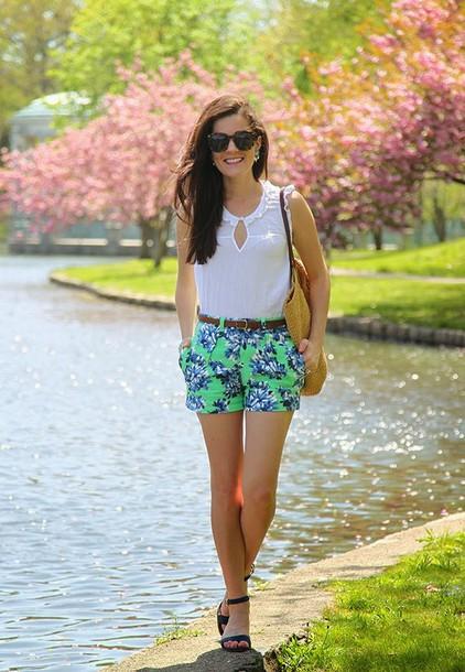 Classy Girls Wear Pearls Shirt Shorts Shoes Bag