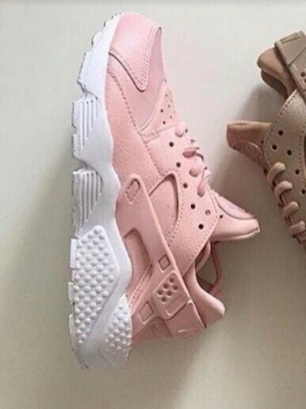 Nike Huarache Ganz Rosa