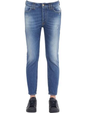 jeans denim cotton blue