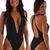 Womens-Sexy-Plunging-Neckline-One-Piece-Tanga--in-ThinSKINZ-Black--by-Skinz