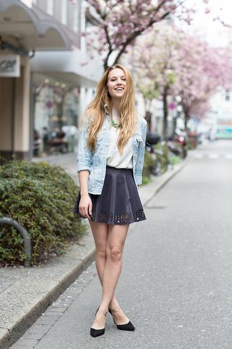 fashion gamble blouse skirt t-shirt shoes jewels