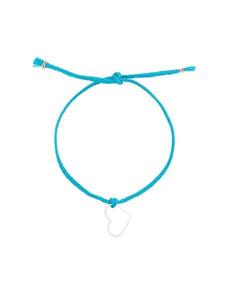 SEEME heart women blue jewels