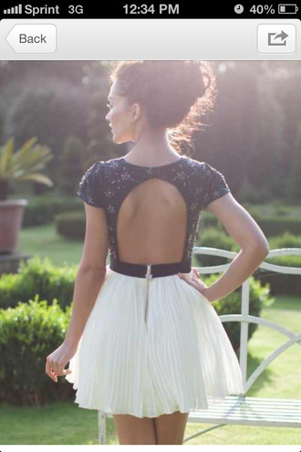 dress lace dress summer outfits adorable backless summer dress forever young black and white dress