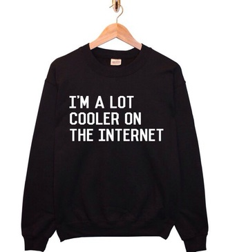 sweater cool tumblr sweater