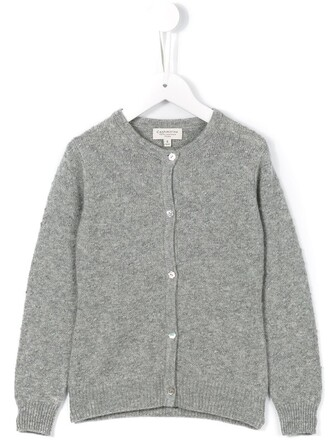 cardigan girl grey sweater