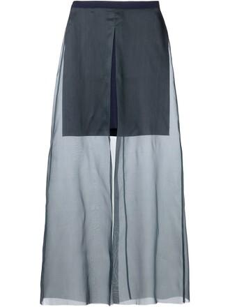 skirt maxi skirt maxi sheer green