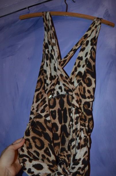 top leopard print bardot
