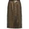 Sequin-embellished skirt