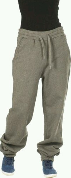 pants grey sweatpants