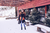 ohsoglam,blogger,jacket,top,jeans,shoes,bag,sunglasses,winter outfits