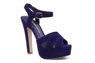 shoes buffalo buffalo shoes plateau lizy high heels purple shoes violet