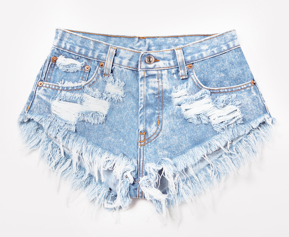 Stoner Babe Super Frayed Shorts | RUNWAYDREAMZ