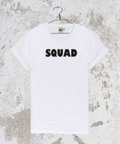 top,squad,squadshirt,squadtshirt,t-shirt,shirt,tank top,tumblr,tumblrshirt,tumblrtshirt,tumblrtop