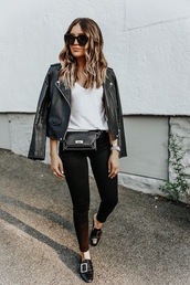bag,denim,jeans,black jeans,shoes,black shoes,jacket