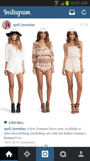 shorts white romper summer outfits cream playsuit