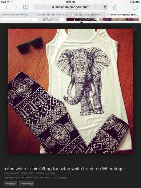 tank top aztec tribal black white aztec tribal elephant black and white hair accessory hat