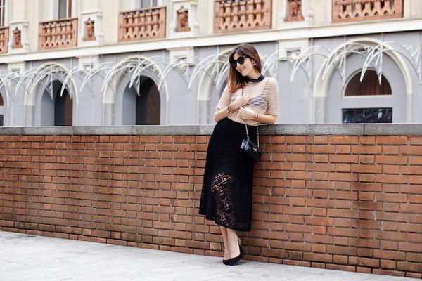 onto my wardrobe blogger top bag sunglasses jewels