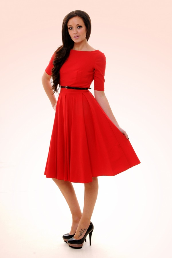 50s dresses 50s style prom dress evening dress women fashion 50s style red dress dress audrey hepburn Pin up pin up dresses