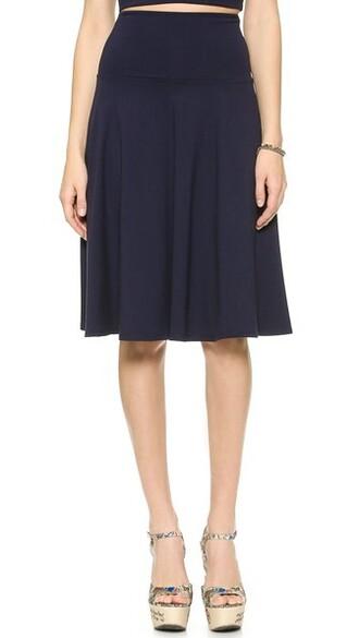 skirt high waisted high tea
