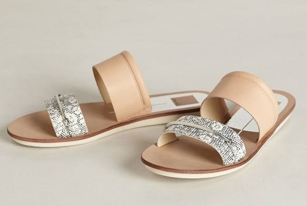 2a250d7c2a9f shoes nude sandal flat sandals black and white cute sandals double colored flat  sandals nude sandals