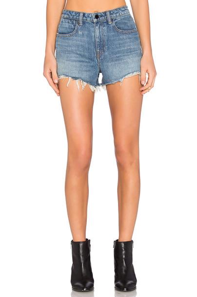 DENIM X ALEXANDER WANG shorts high light