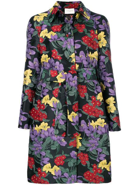 Giuseppe Di Morabito coat women floral black