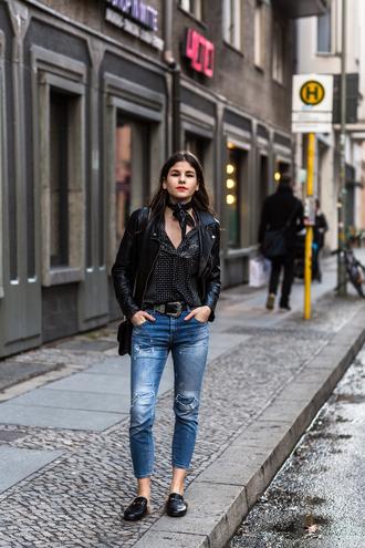 the fashion fraction blogger jacket blouse jeans bag belt
