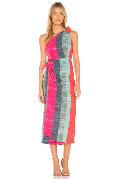 Mara Hoffman dress pink