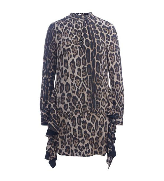 Twin-Set dress print dress leopard print dress print leopard print