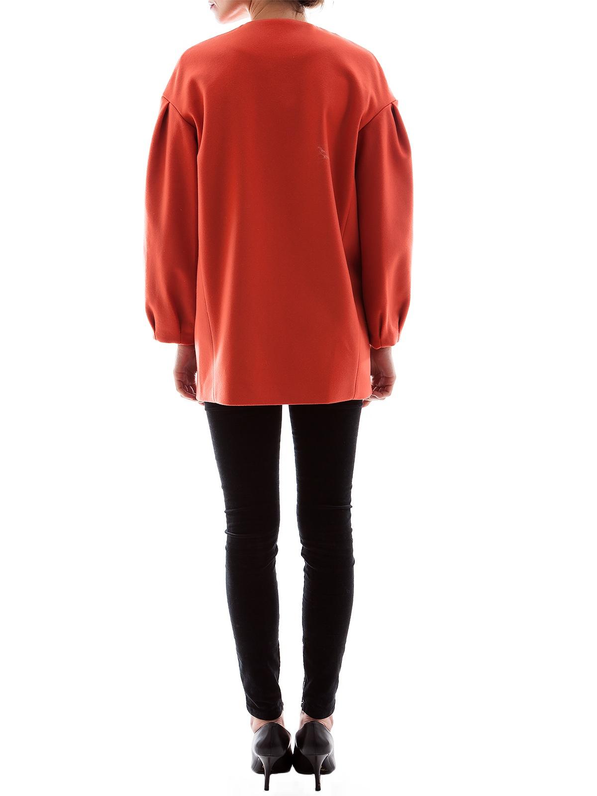 BRYGAN ORANGE COAT | Shop for Fashion Trends in Abrigos & Chaquetas - GIRISSIMA.COM