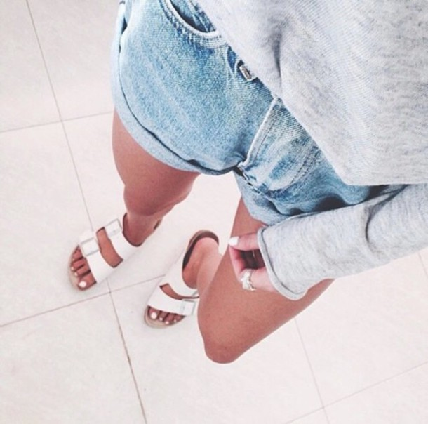shorts denim shorts blue wash ripped skinny jeans summer shorts hipster shorts