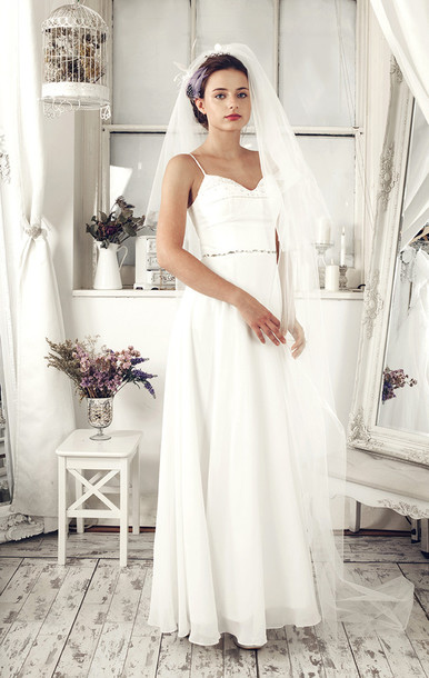 dress wedding dress bridal dress bridal gown ivory wedding dress long wedding dress elliotclaire sleeveless bridal dress beach wedding hipster wedding white dress