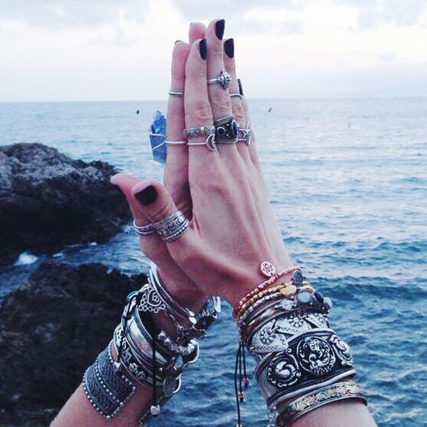 jewels hipster ring jewelry ocean