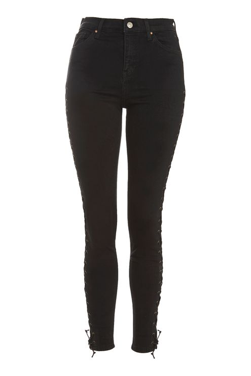 MOTO Black Lace up Jamie Jeans - New In Fashion - New In