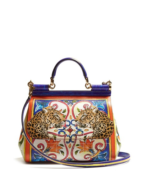 Dolce & Gabbana bag leather bag leather print