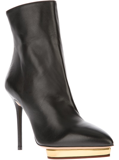 Charlotte Olympia 'deborah' Boot - Hu's Shoes - Farfetch.com