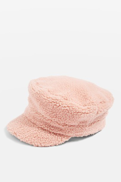 Topshop pale hat pink
