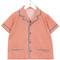 Caramel caper shirt, girl's, size: 6 yrs, yellow/orange