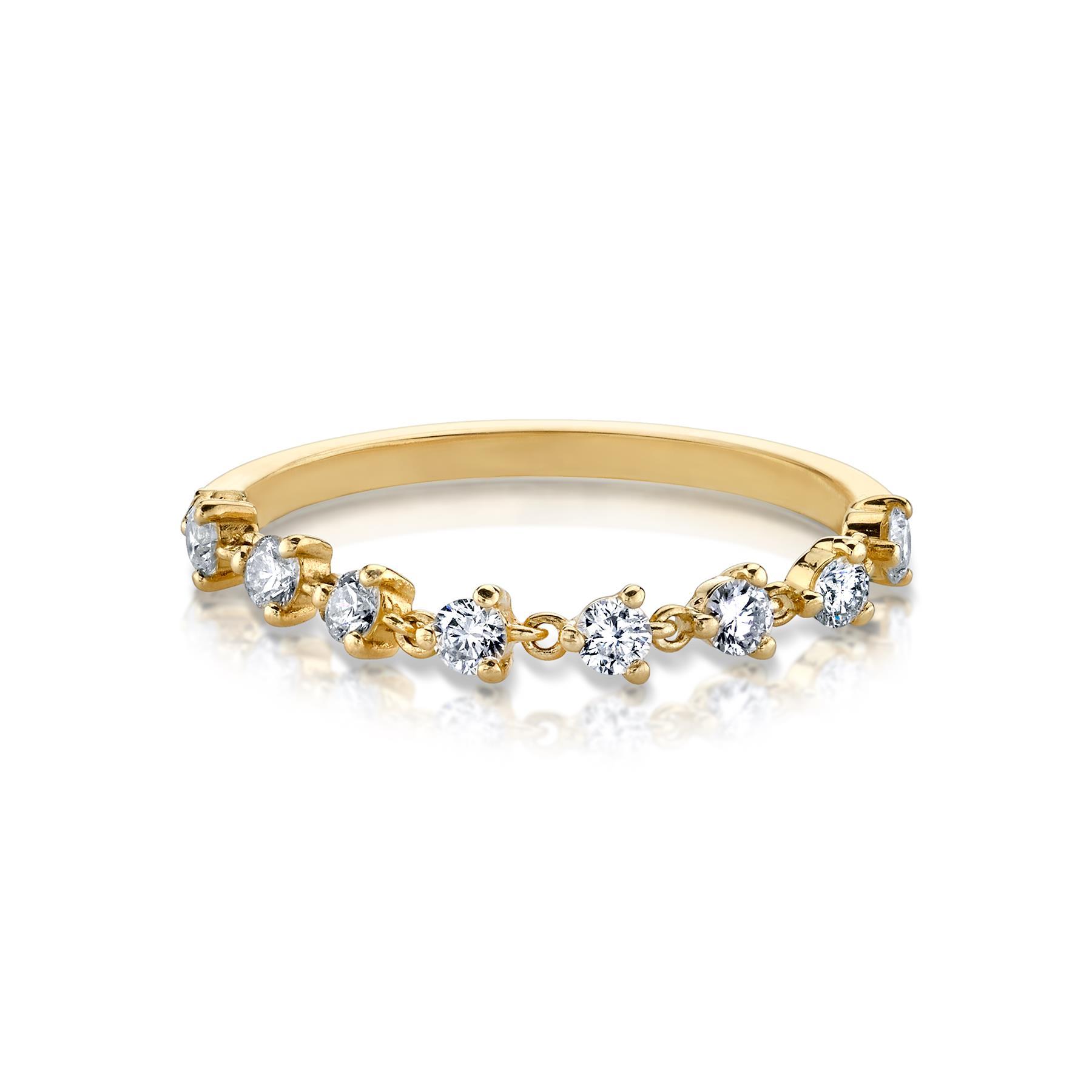 DIAMOND CHAIN TENNIS RING