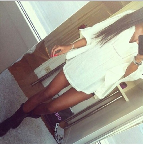 shirt white blouse loose fit white dress summer dress loose dress