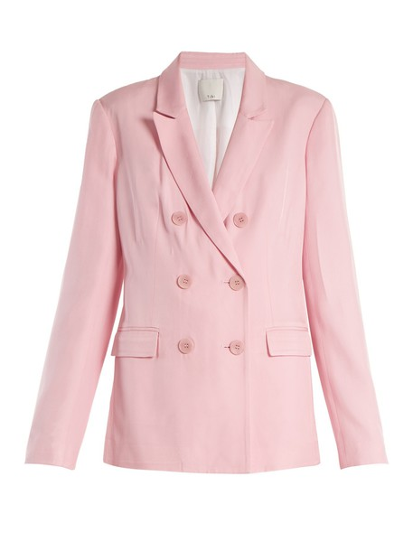 Tibi blazer light pink light pink jacket