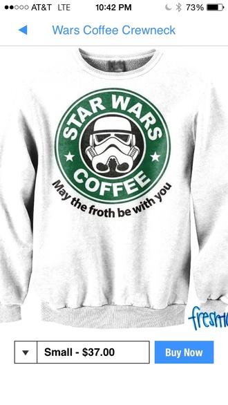star wars starbucks green white