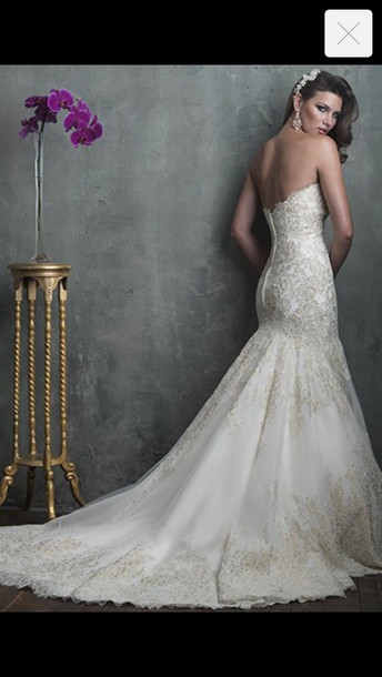 dress ivory dress white wedding dress beautiful gown
