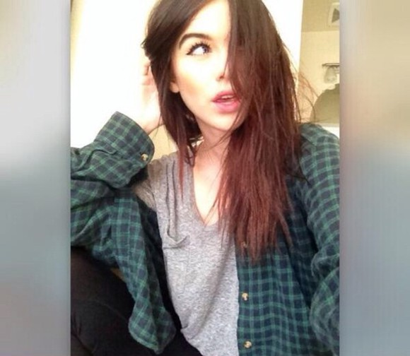 gray shirt gray t-shirts blouse acacia brinley shirt flannel green flannel